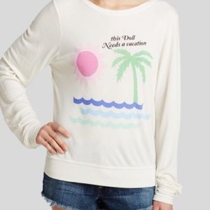 """Wildfox """"This Doll Needs A Vacation"""" Top"""